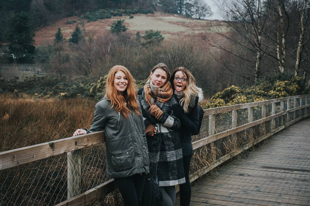 Glendalough with the girls